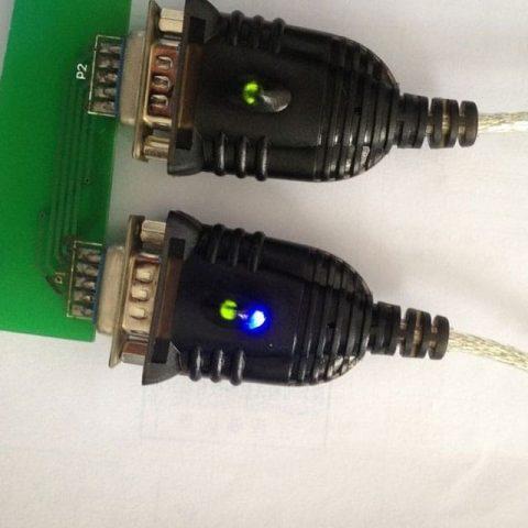 LED-USB-직렬 케이블
