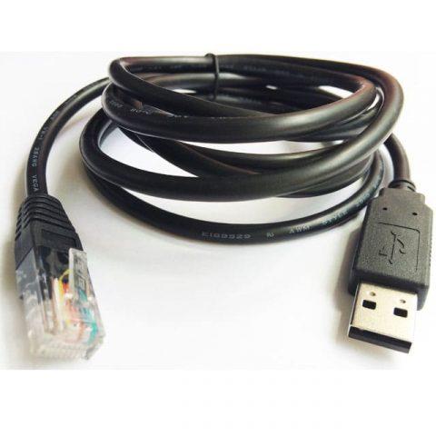 Câble de console USB vers RJ45