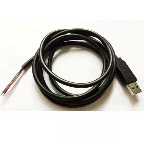 Cabo USB-RS232 para abrir